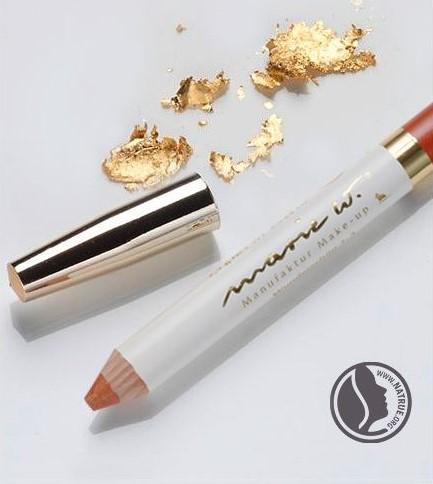 Natur Lippenstift Wunderschön 1-3 mit echtem Gold 1