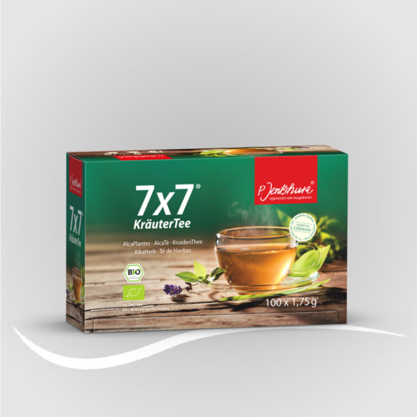 7 x 7 ® Kräutertee BIO Filterbeutel à 1,75 g 100er 1