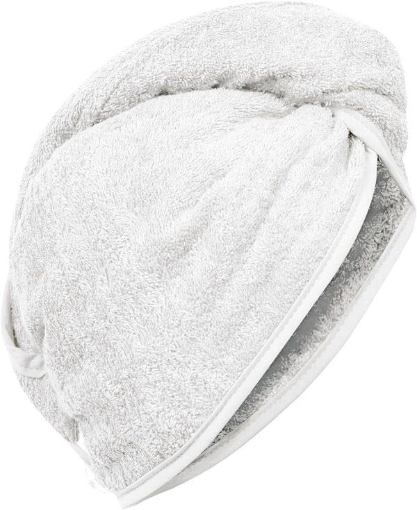 Haar-Turban Carenesse Weiß 5