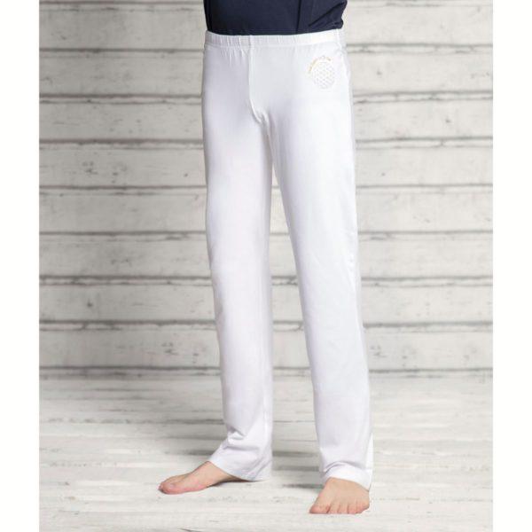 """Wellnesshose """"Blume des Lebens"""", unisex, Größe XS-XL, Farbe Weiß   Schwarz   Silbergrau 6"""