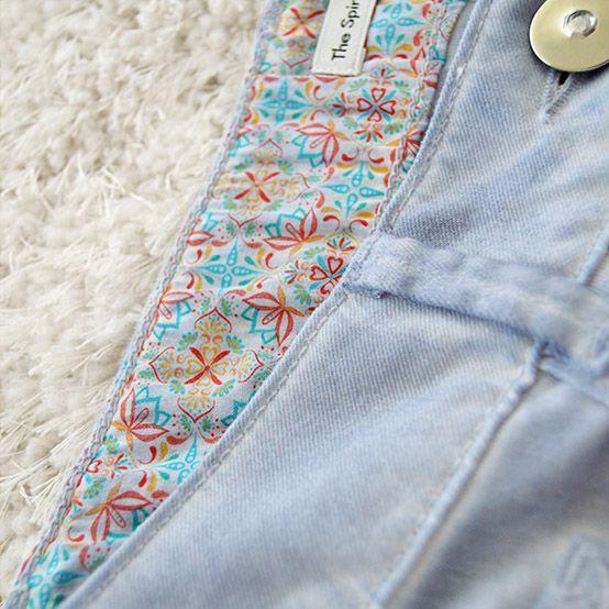 Jeanshose hellblau, Größe M 2