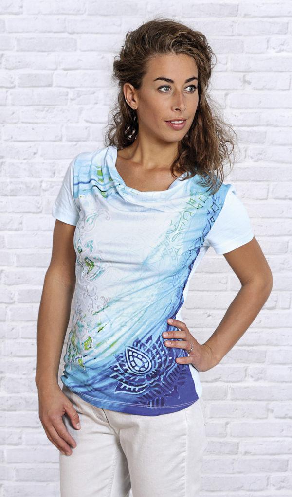 Shirt Blaue Lagune Größe S 1