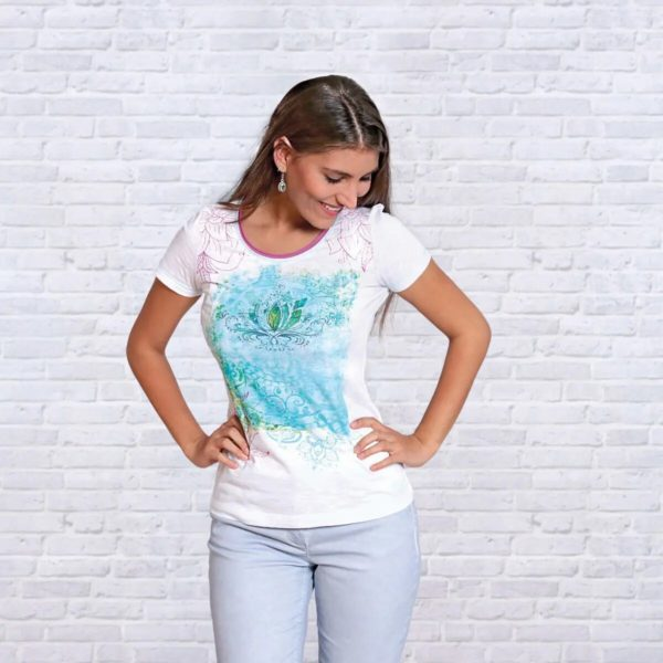 Shirt Seerose, Größe S 1