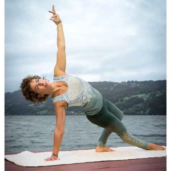 Yoga-Top - Bakti - green/smaragd, Größe XS 2
