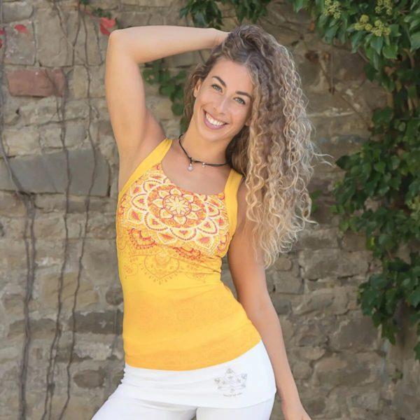 Yoga-Top sunflower, Größe S 1