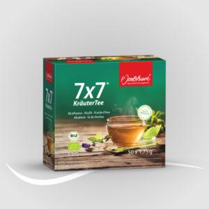 7 x 7 ® Kräutertee BIO Filterbeutel à 1,75 g 50er