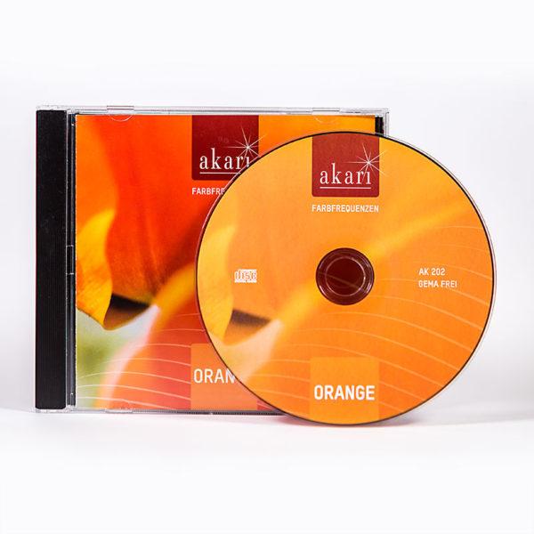 Farbklang CD, orange