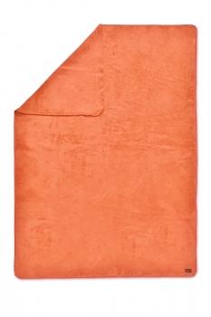 Biophotonen-Kuscheldecke UNIFARBEN orange 200 cm x 150 cm 1
