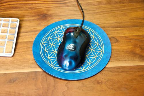 Berk: Blume des Lebens Mousepad 2