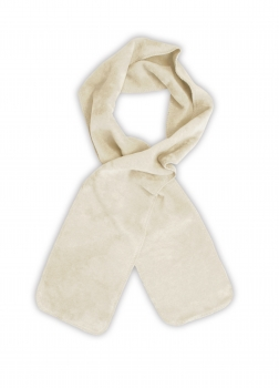 Biophotonen-Schal, creme, 200 x 25 cm