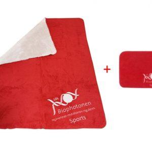 Biophotonen-Sportdecke + GRATIS Biophotonen-Pad - Sport 40 x 30 cm