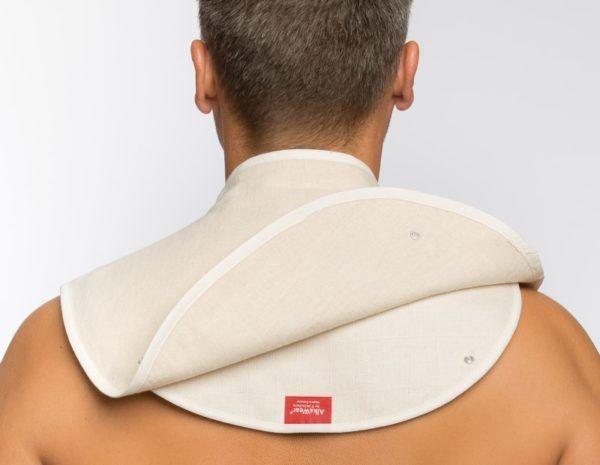 Basischer Nacken- und BronchienWickel® Gr. 2 – 86-110 cm 3