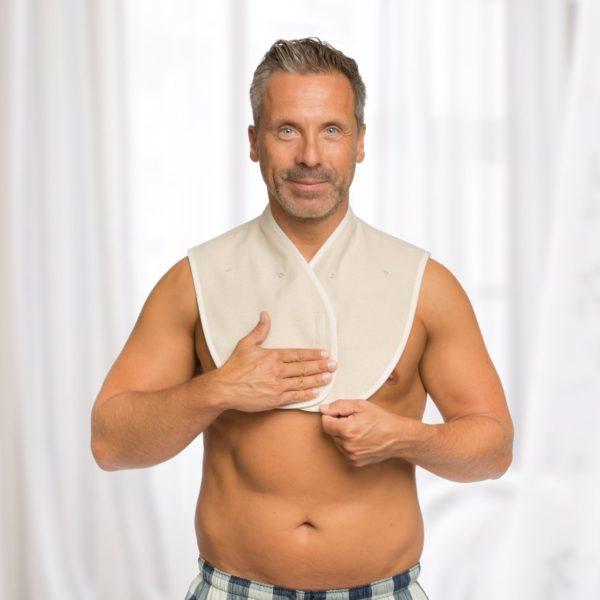 Basischer Nacken- und BronchienWickel® Gr. 2 – 86-110 cm 2